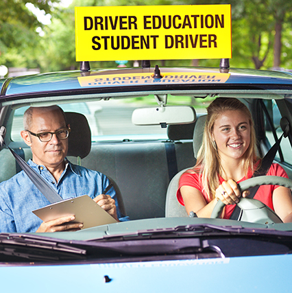 driving student