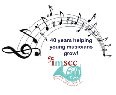 Thank you for celebrating 40 years of music education with IMSCC!